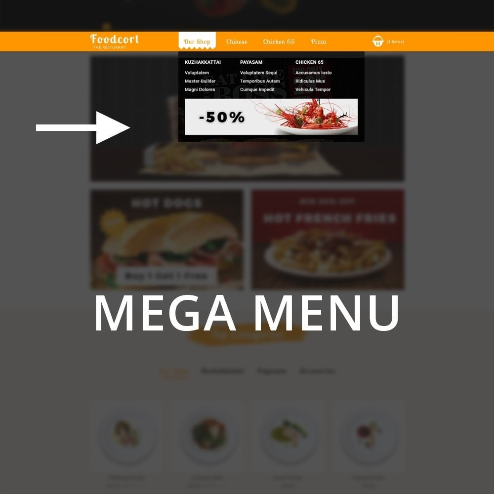 theme - Lebensmittel & Restaurants - Foodcort Restaurant - 9