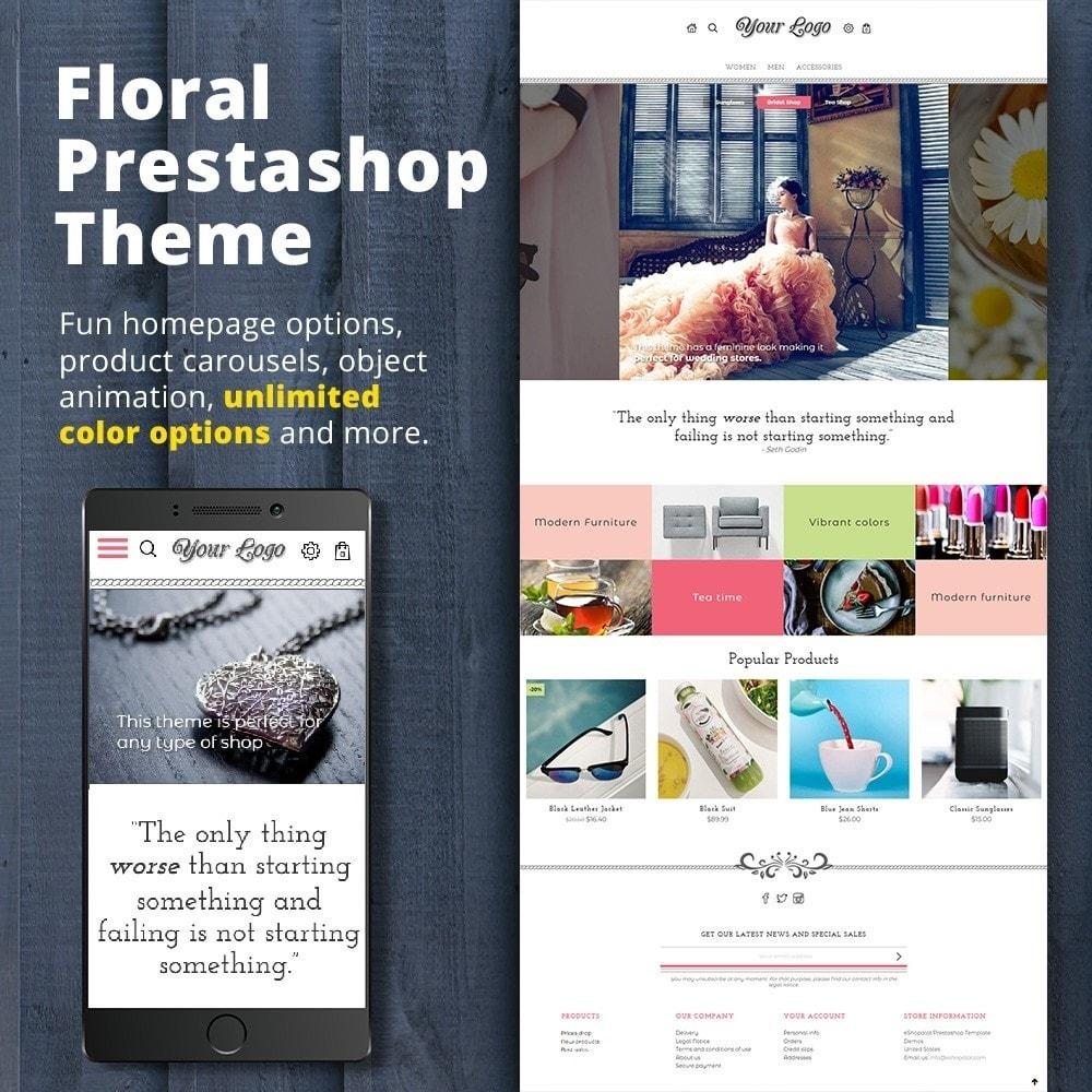 theme - Подарки, Цветы и праздничные товары - Floral - 1