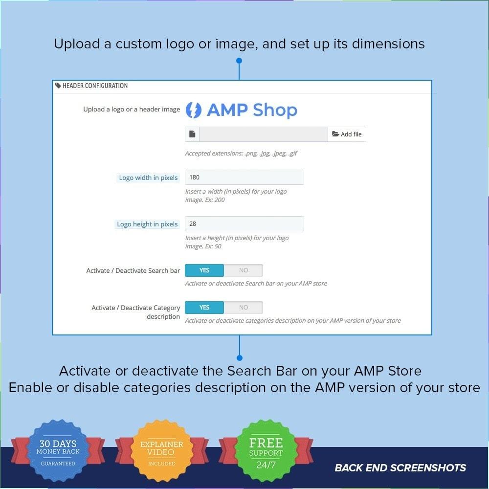 module - Мобильный телефон - AMP - Accelerated Mobile Pages PRO - 7