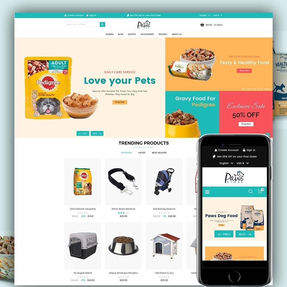 theme - Animali - Paws Pet Store - 1