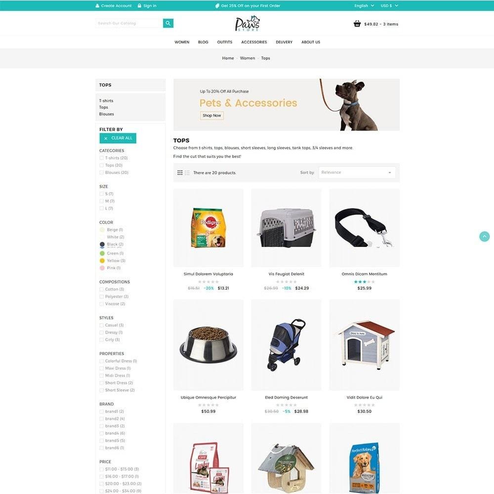 theme - Animaux - Paws Pet Store - 4