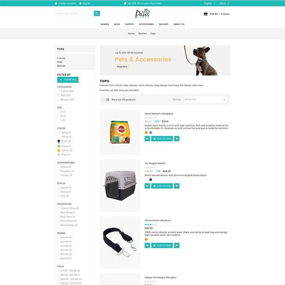 theme - Tier - Paws Pet Store - 5