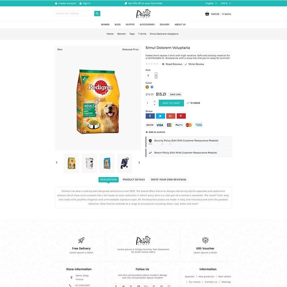 theme - Animaux - Paws Pet Store - 6