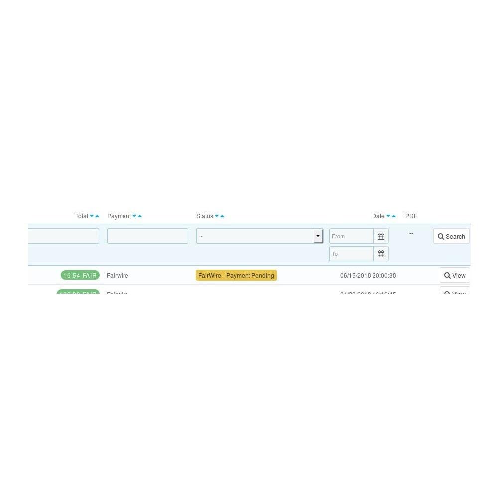 module - Pago con Tarjeta o Carteras digitales - Fairwire - 2