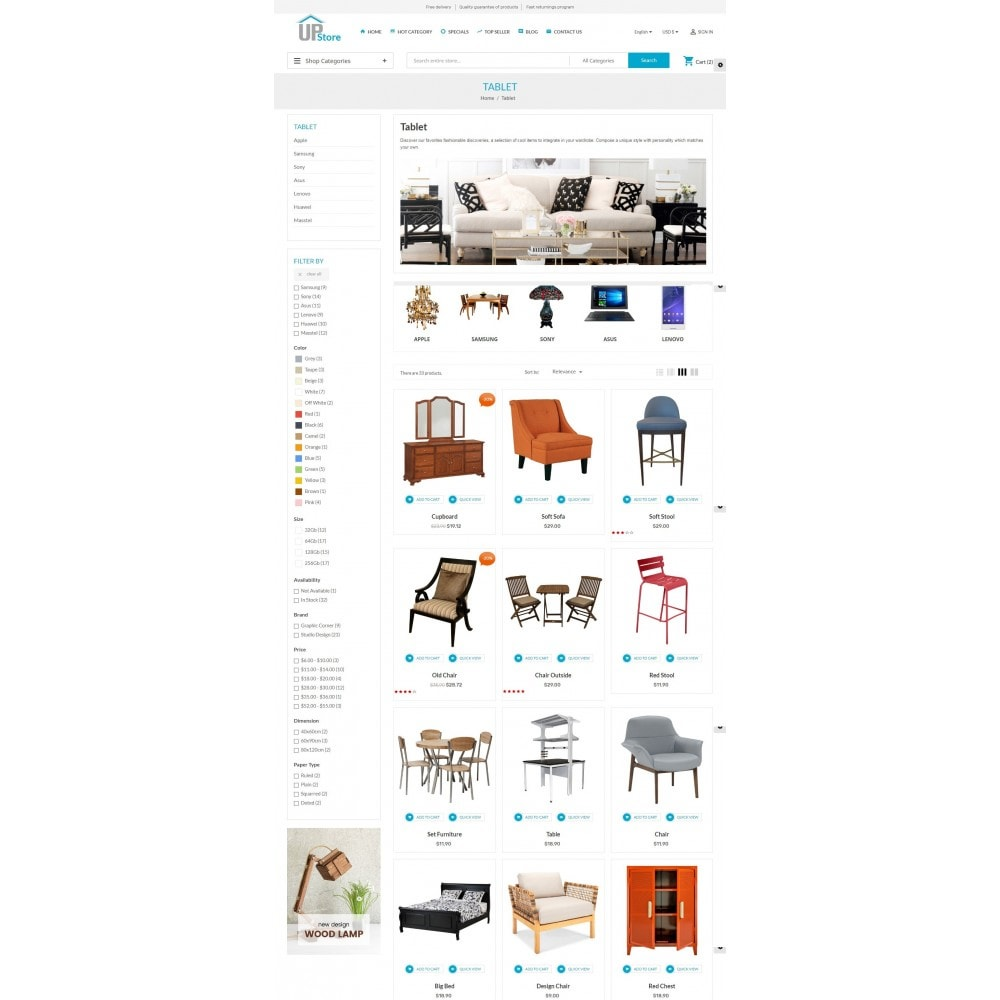 theme - Dom & Ogród - Furniture Meubles - 5