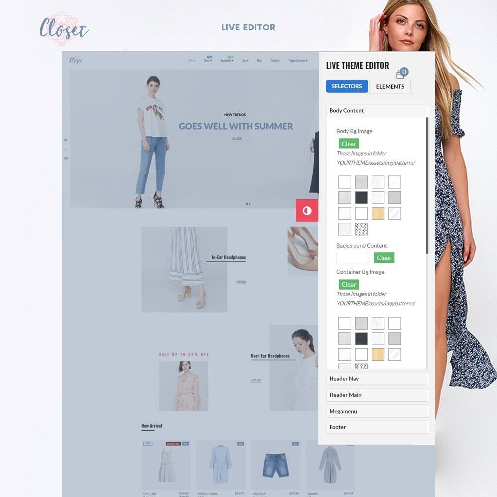 theme - Mode & Chaussures - Leo Closet - 2