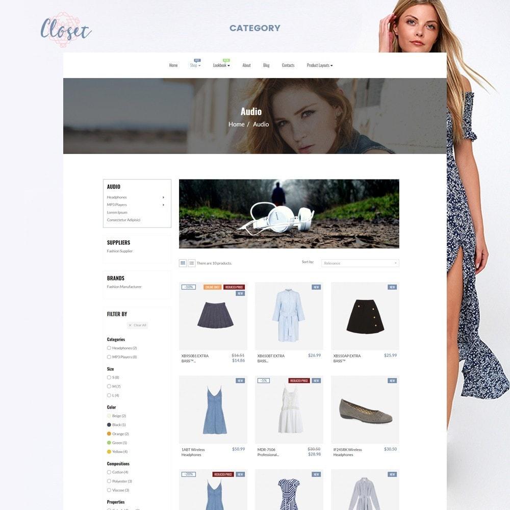 theme - Mode & Chaussures - Leo Closet - 5
