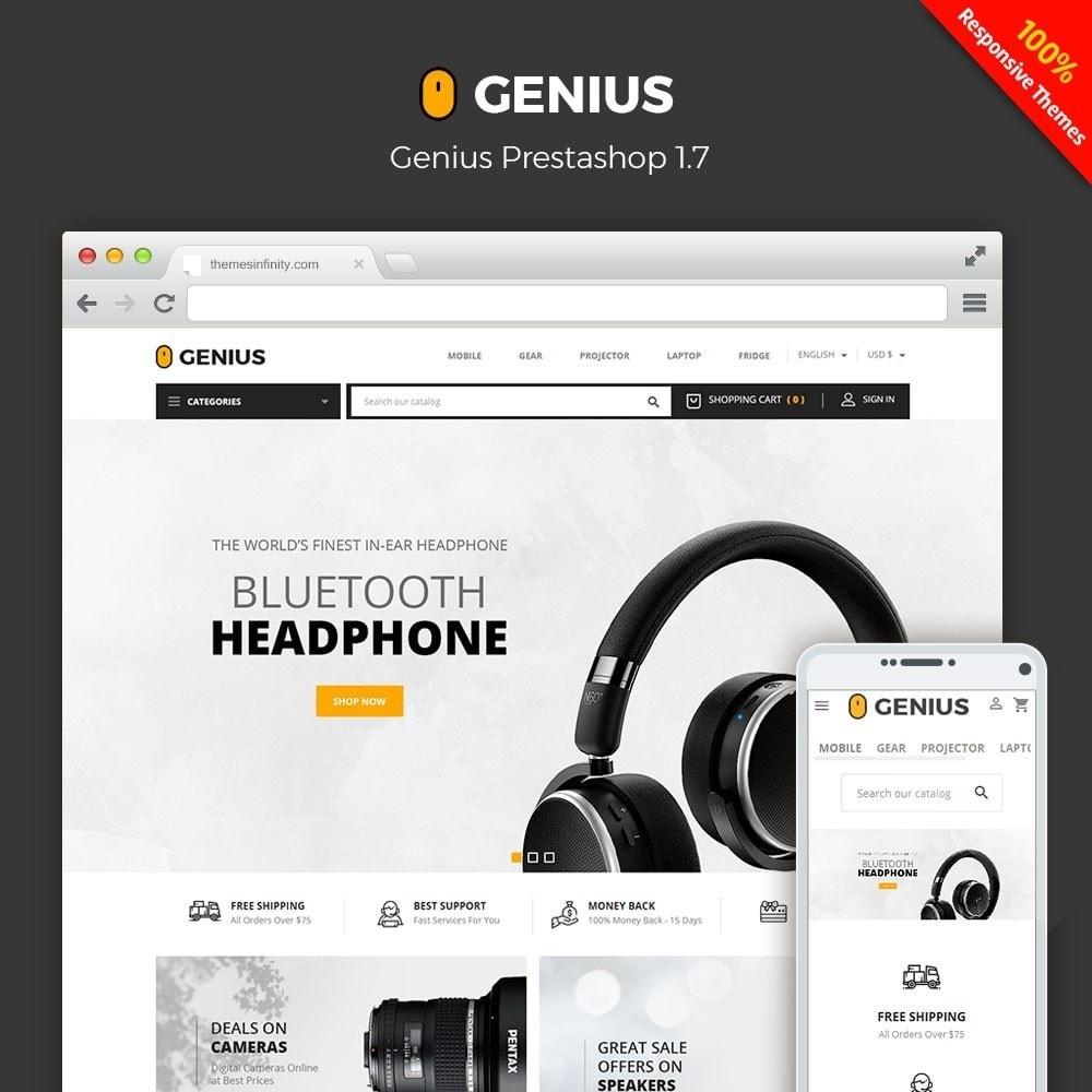 theme - Electrónica e High Tech - Genius - Electronics Online Store - 1