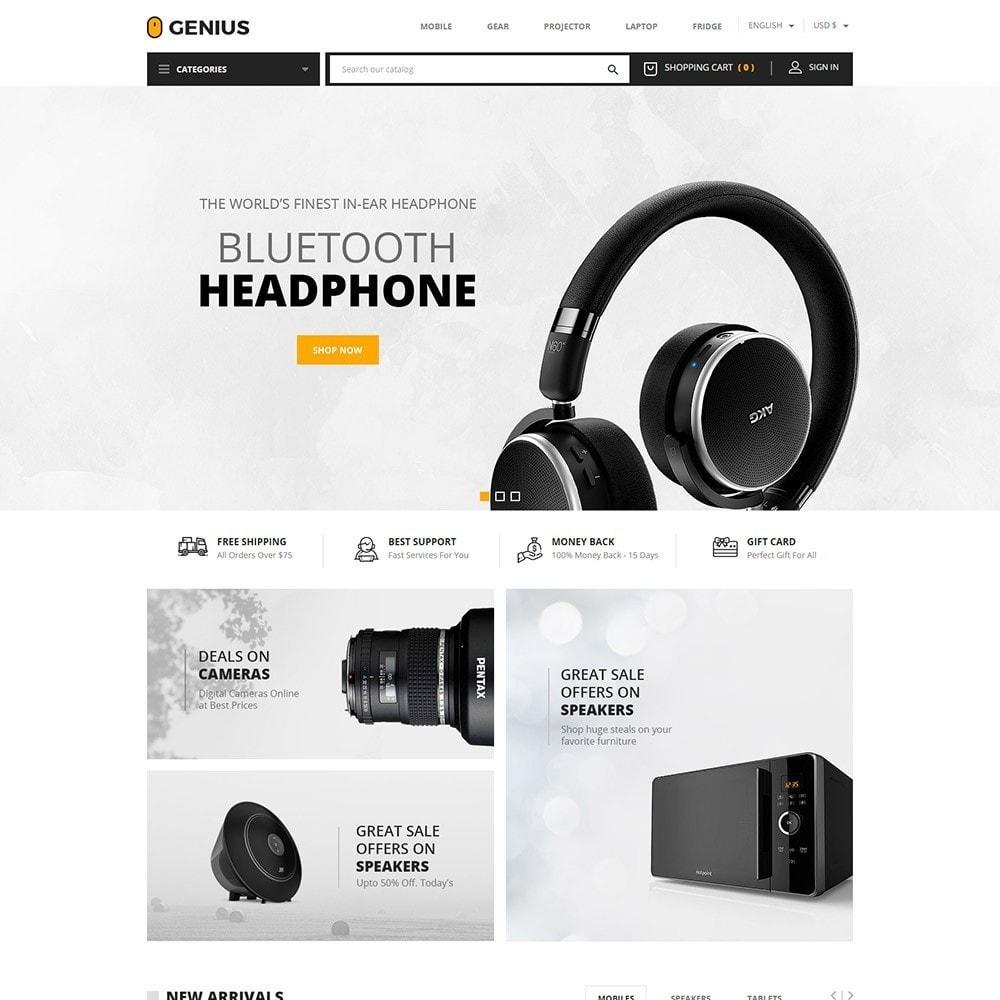 theme - Electrónica e High Tech - Genius - Electronics Online Store - 2