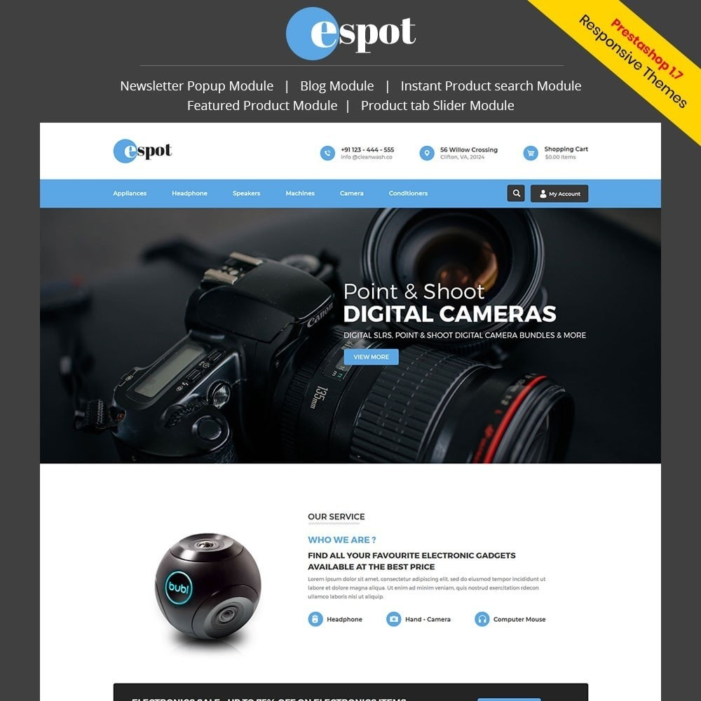 theme - Elektronica & High Tech - Espot Electronics Store - 1