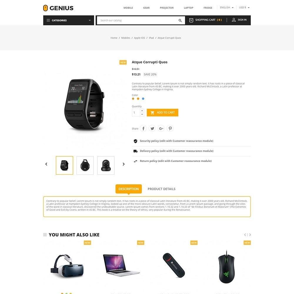 theme - Electrónica e High Tech - Genius - Electronics Online Store - 5
