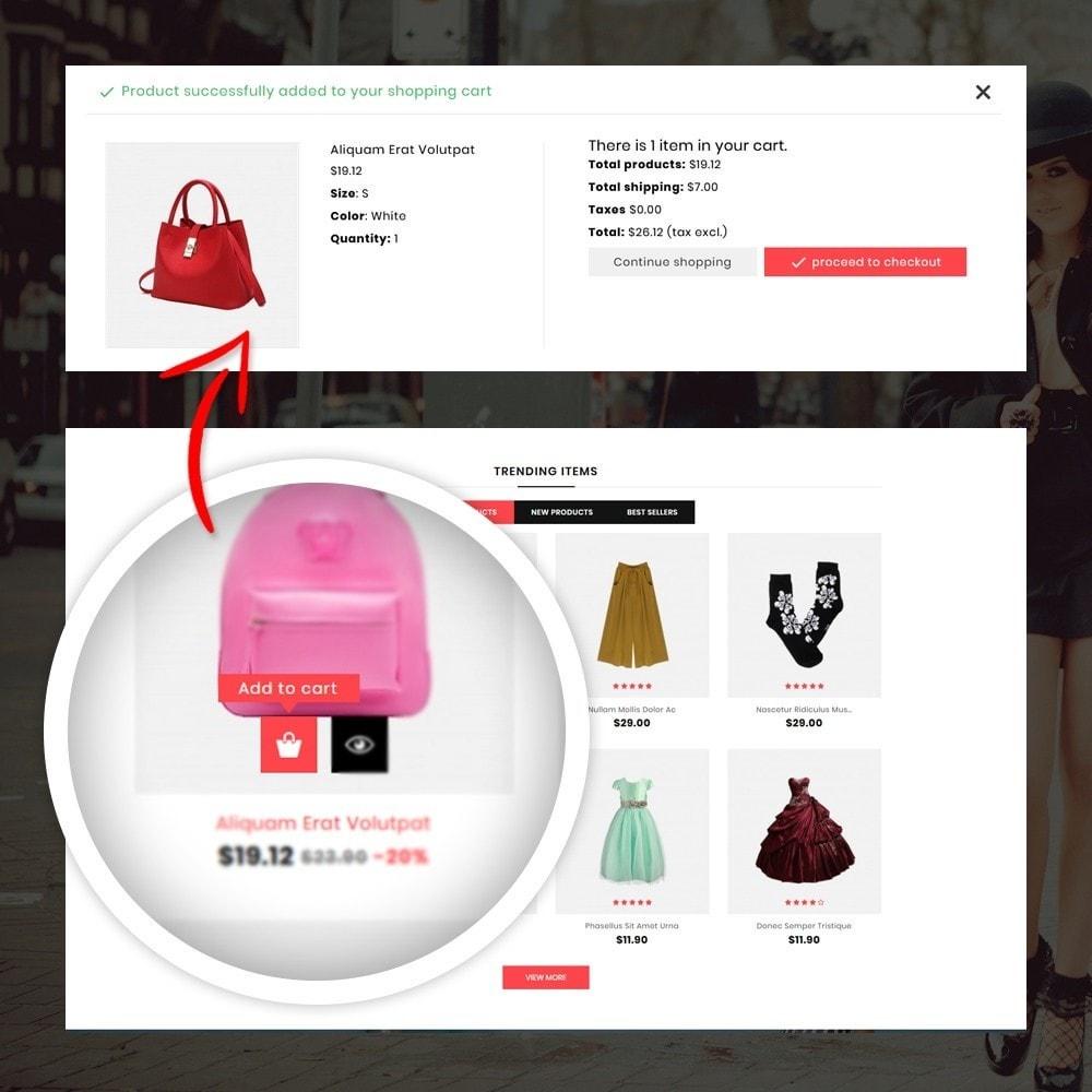 theme - Мода и обувь - Orange - Fashion Shop - 5