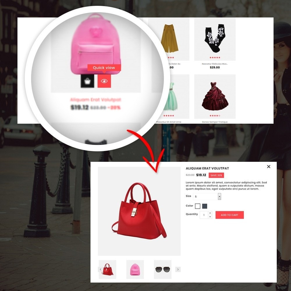 theme - Moda & Calzature - Orange - Fashion Shop - 8