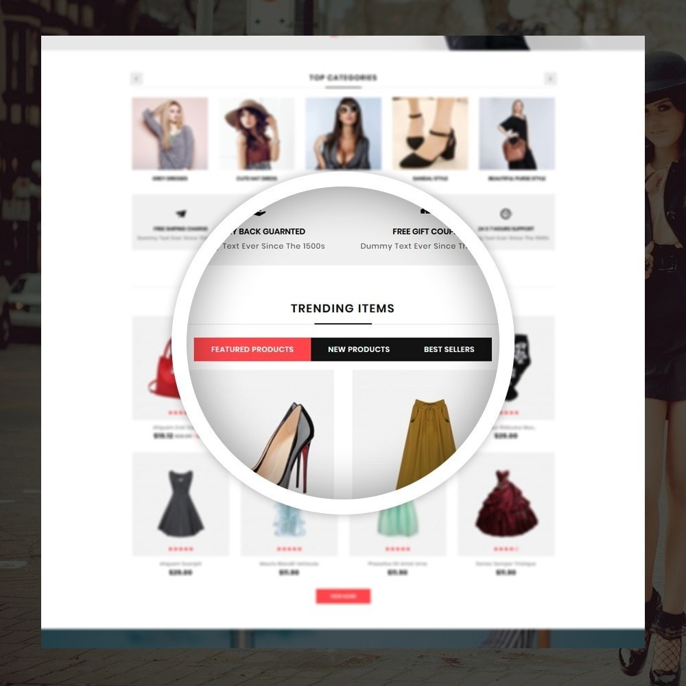 theme - Moda & Calzature - Orange - Fashion Shop - 9