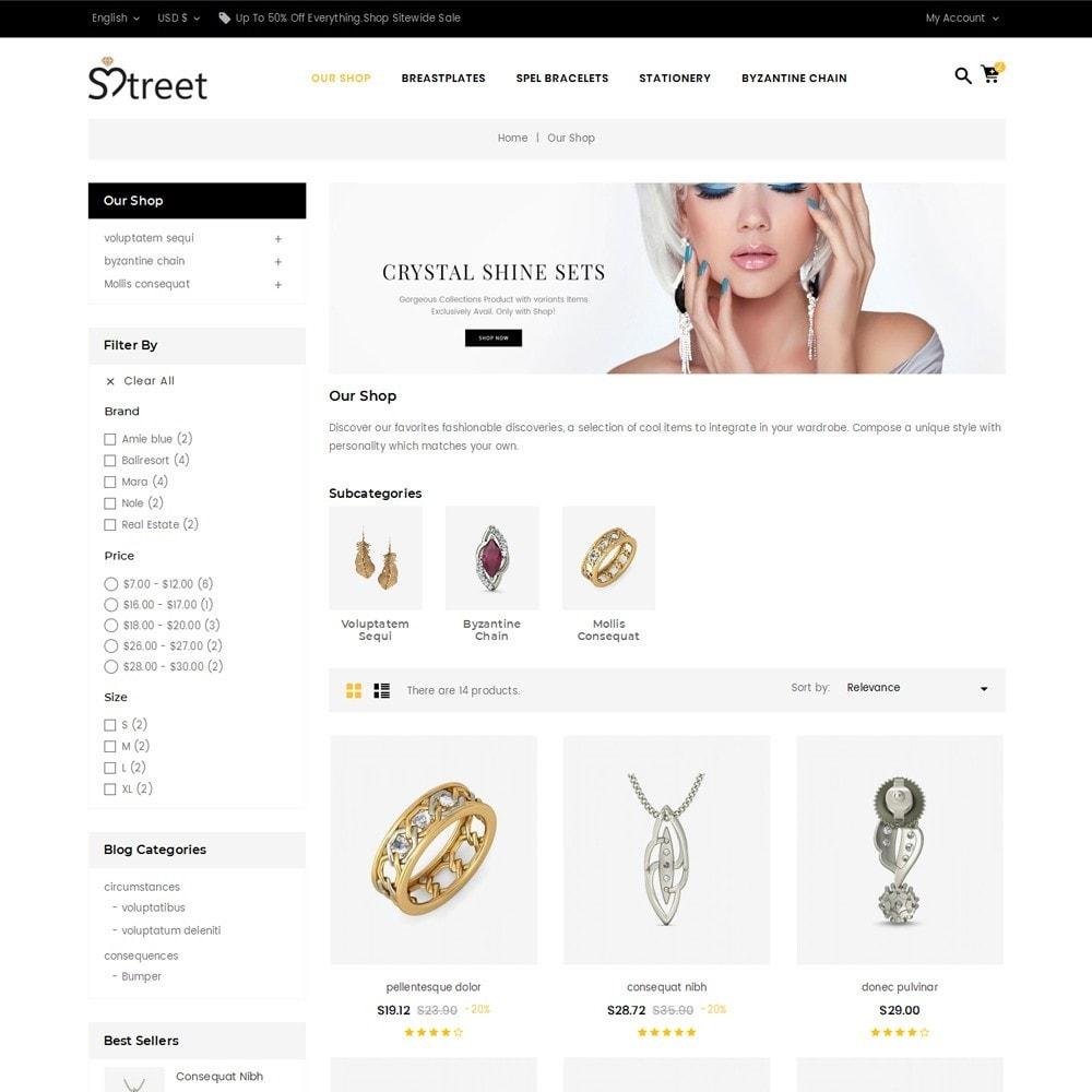 theme - Bellezza & Gioielli - Treet - The Jewelry Store - 4