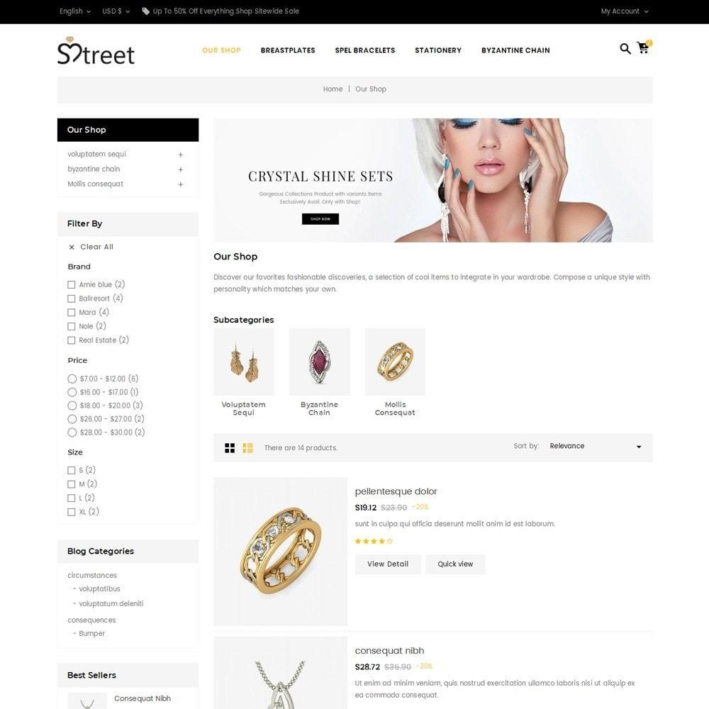 theme - Bellezza & Gioielli - Treet - The Jewelry Store - 5