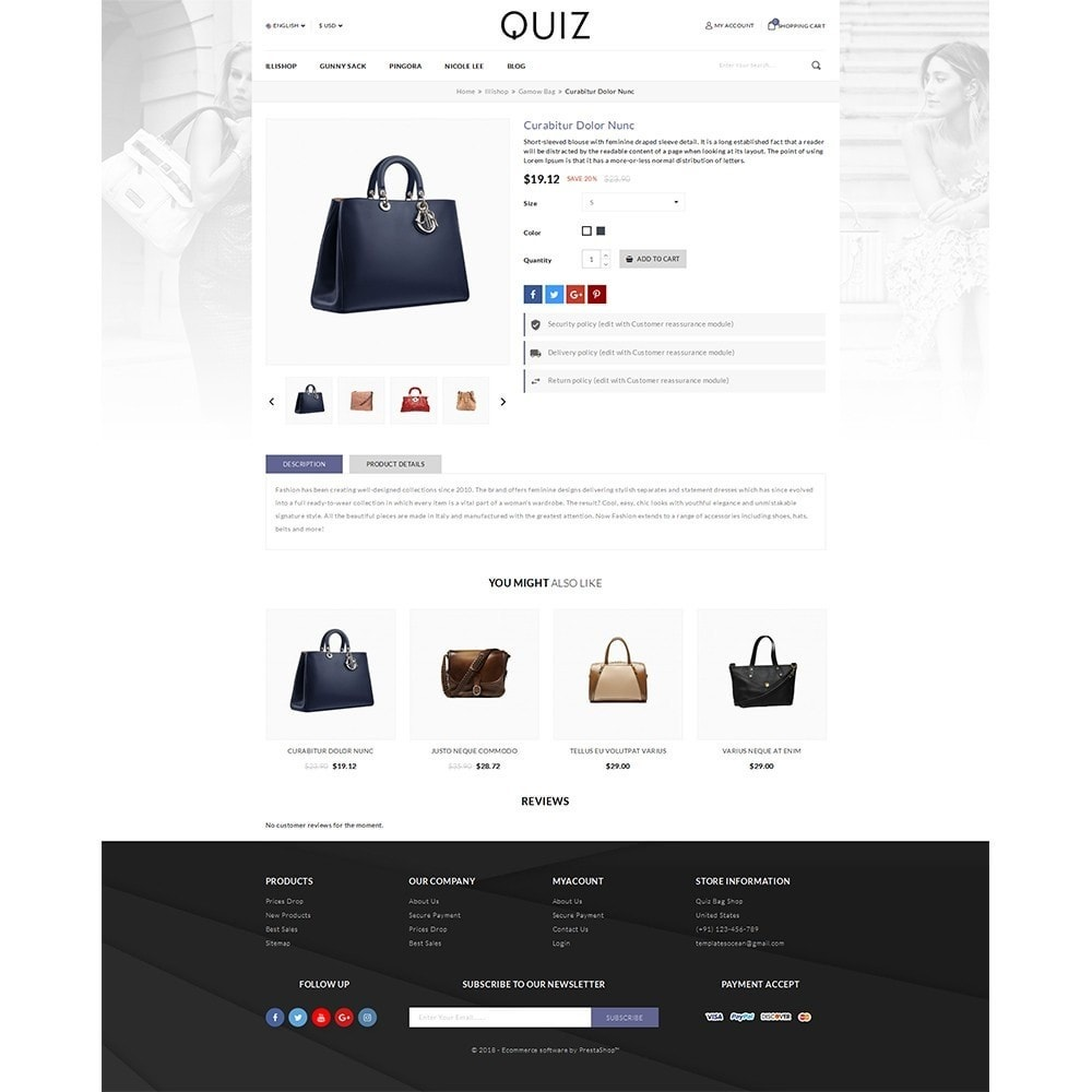 theme - Bellezza & Gioielli - Quiz Bag Store - 3