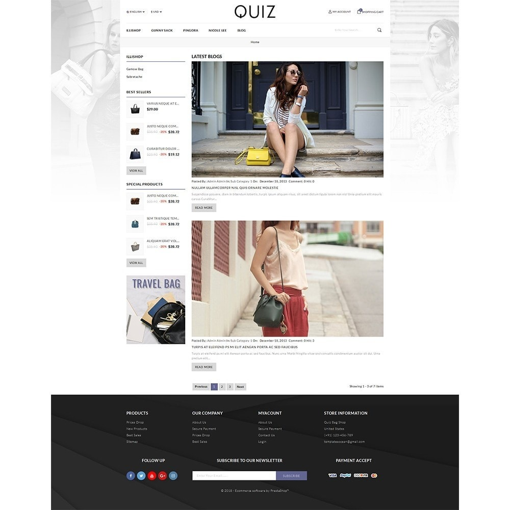 theme - Bellezza & Gioielli - Quiz Bag Store - 4