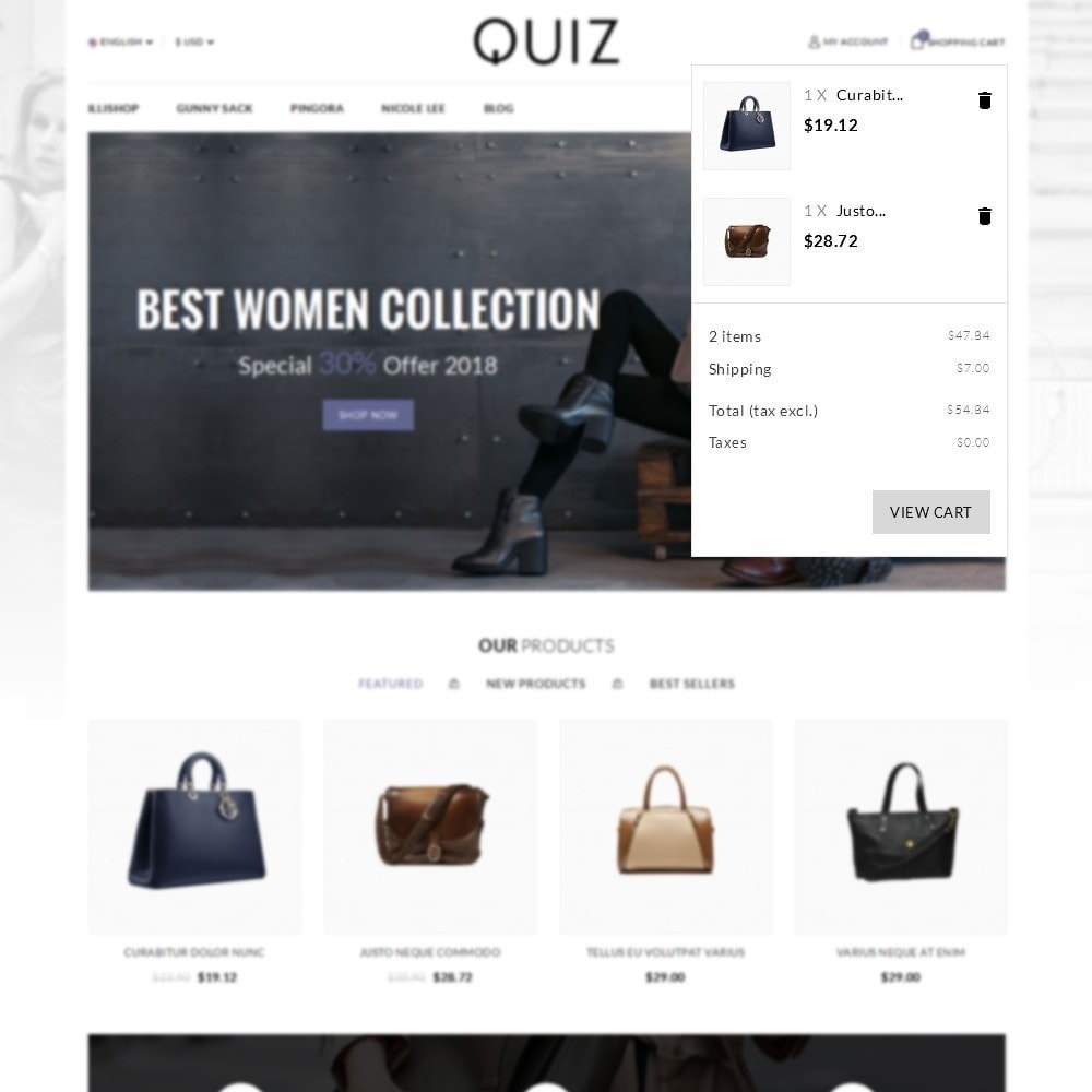 theme - Bellezza & Gioielli - Quiz Bag Store - 6
