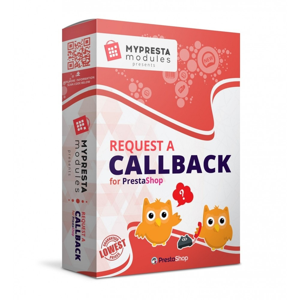 module - Support & Online-Chat - Request a Call Back - 1