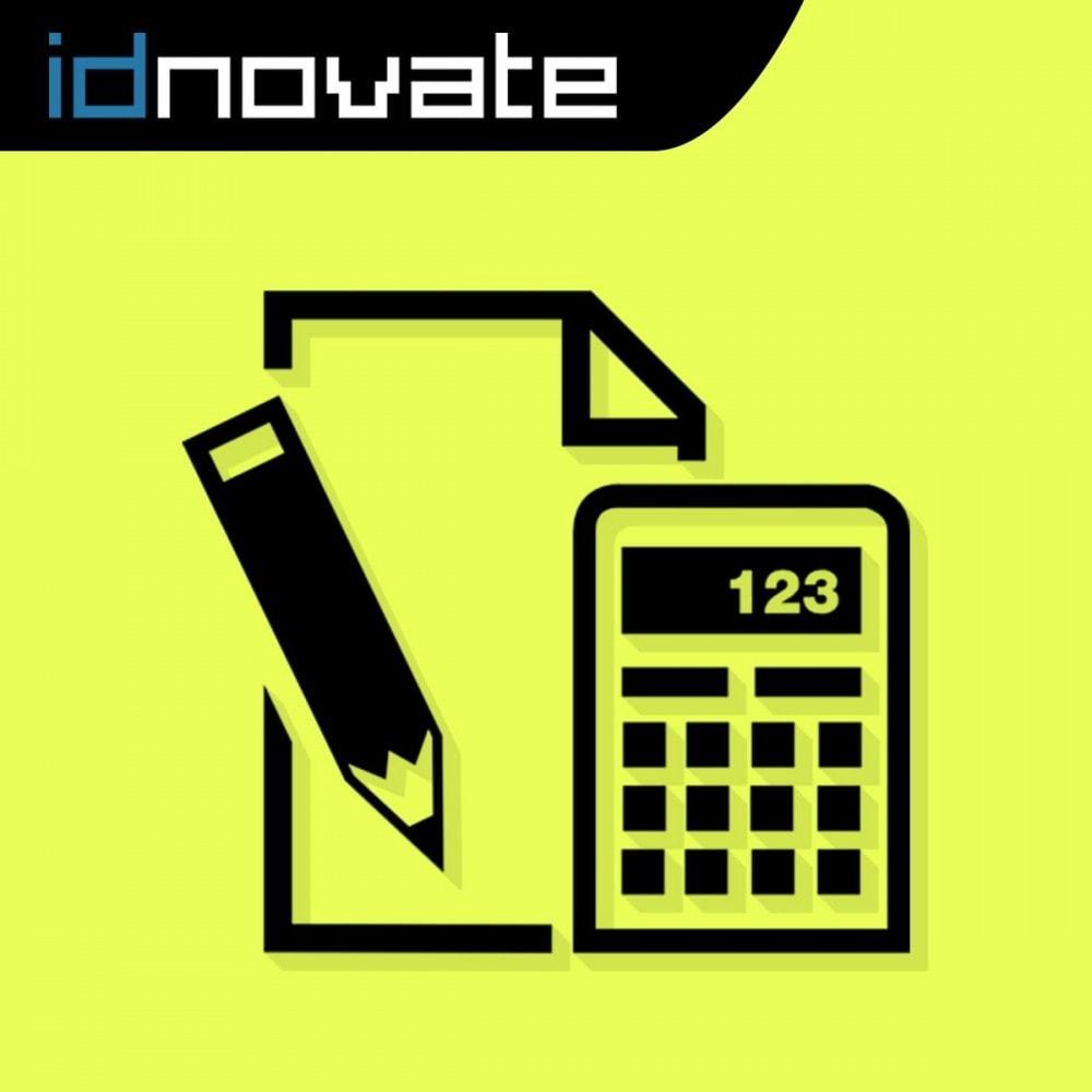 module - Gestión de Precios - Edición de precios específicos - 1