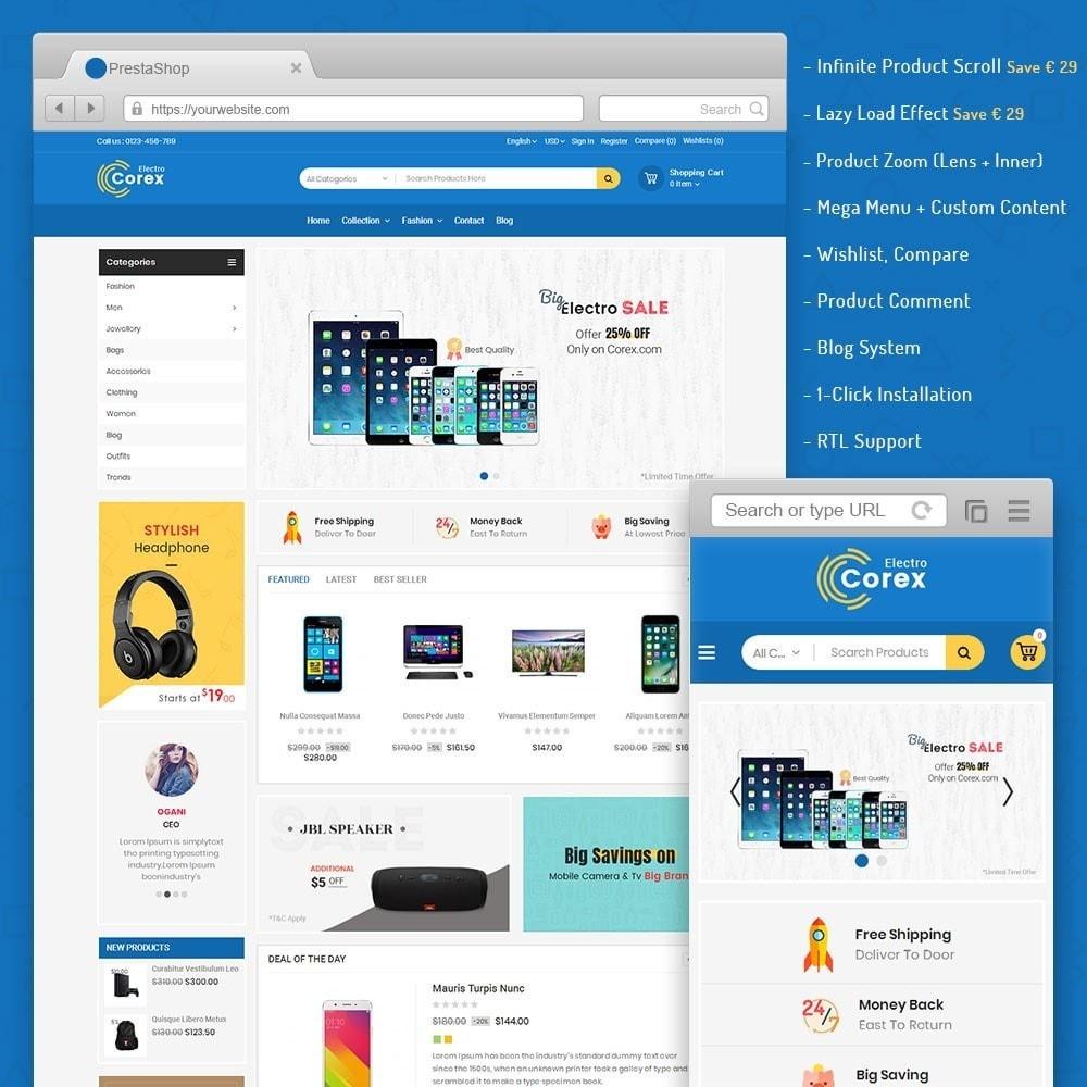 theme - Электроника и компьютеры - Corex Electro Store - 1
