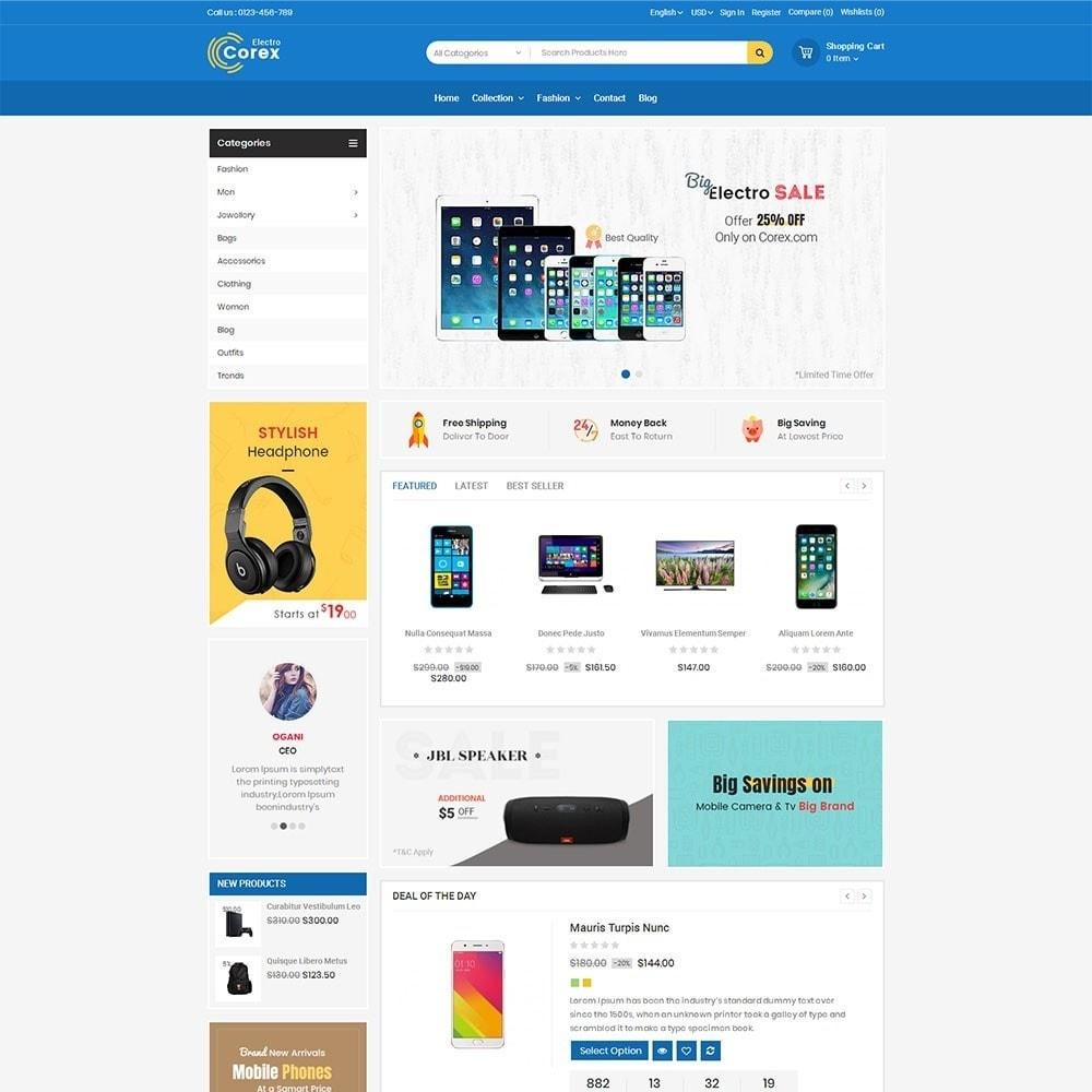 theme - Электроника и компьютеры - Corex Electro Store - 2