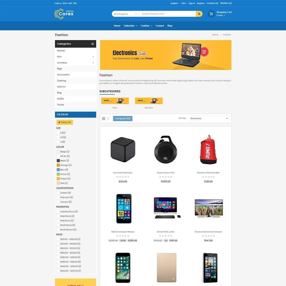 theme - Электроника и компьютеры - Corex Electro Store - 3