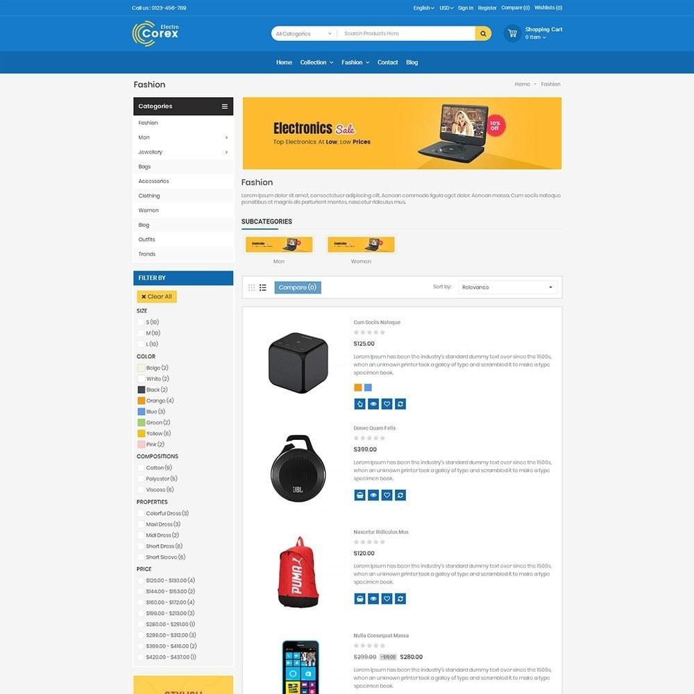 theme - Электроника и компьютеры - Corex Electro Store - 4