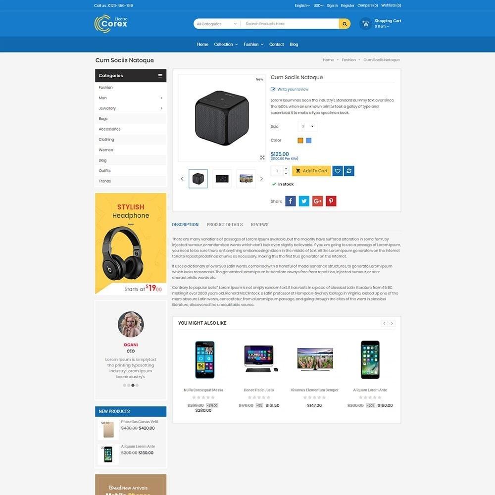 theme - Электроника и компьютеры - Corex Electro Store - 5