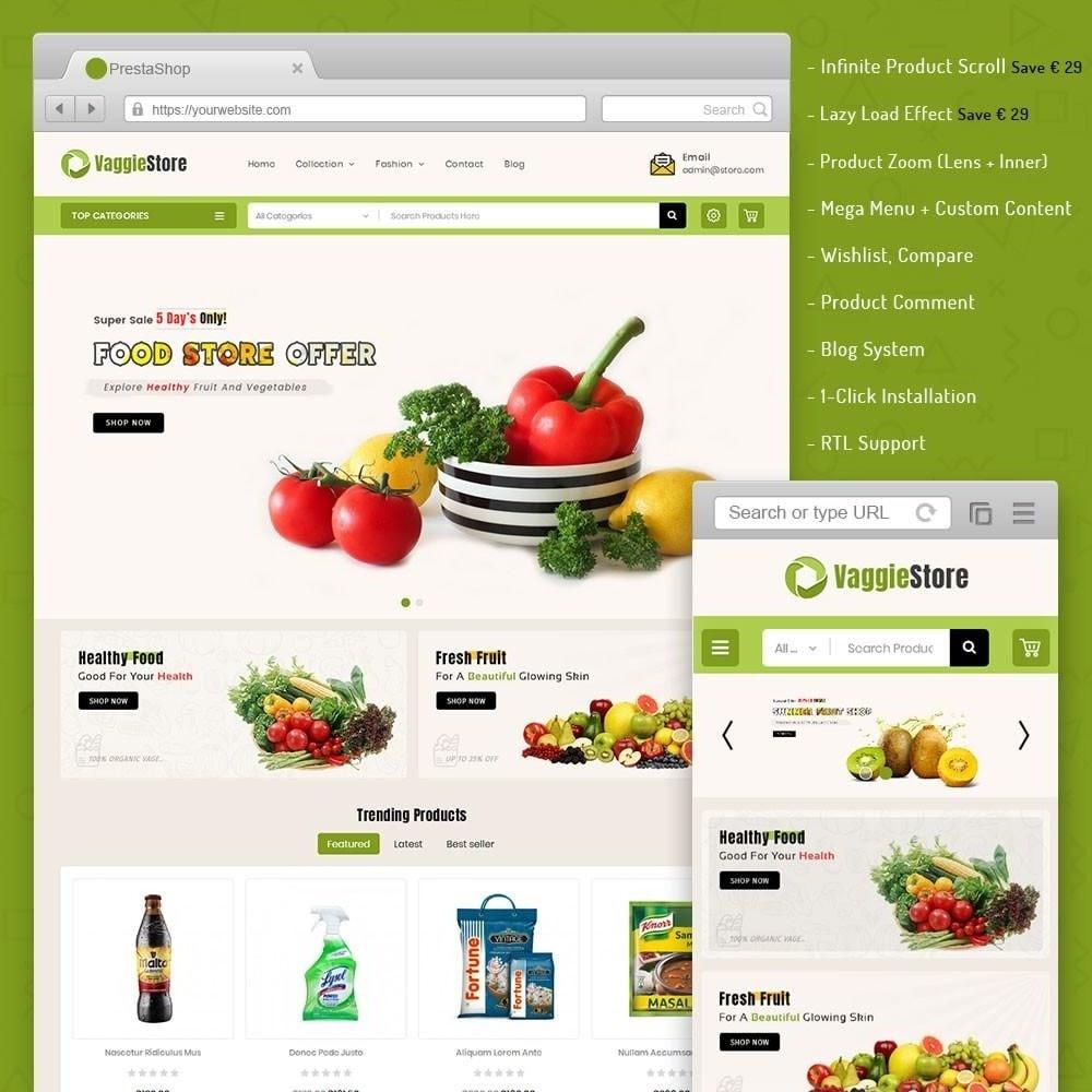theme - Lebensmittel & Restaurants - Vaggie Store - 1