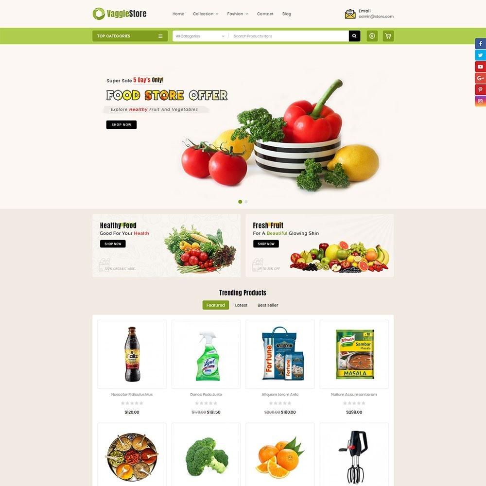 theme - Lebensmittel & Restaurants - Vaggie Store - 2