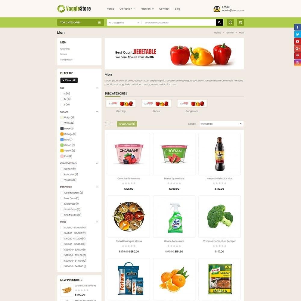 theme - Lebensmittel & Restaurants - Vaggie Store - 3
