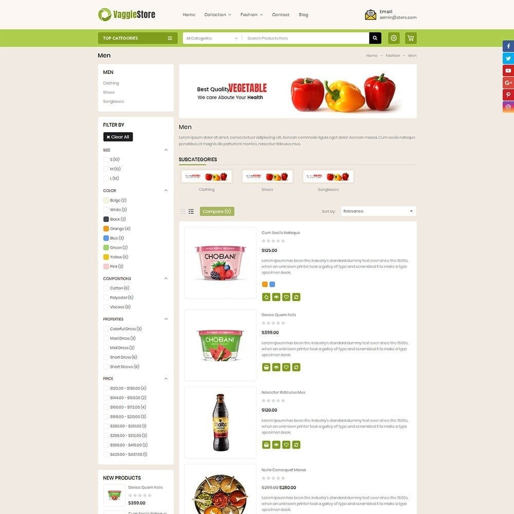 theme - Lebensmittel & Restaurants - Vaggie Store - 4