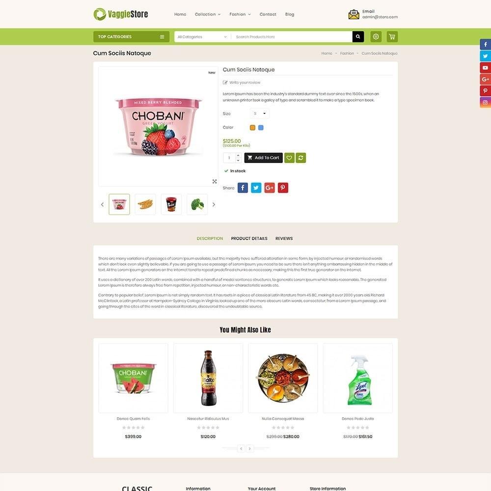 theme - Lebensmittel & Restaurants - Vaggie Store - 5
