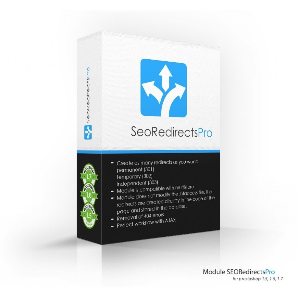module - URL y Redirecciones - Seo Redirects Pro (301, 302, 303 URL Redirects) - 1