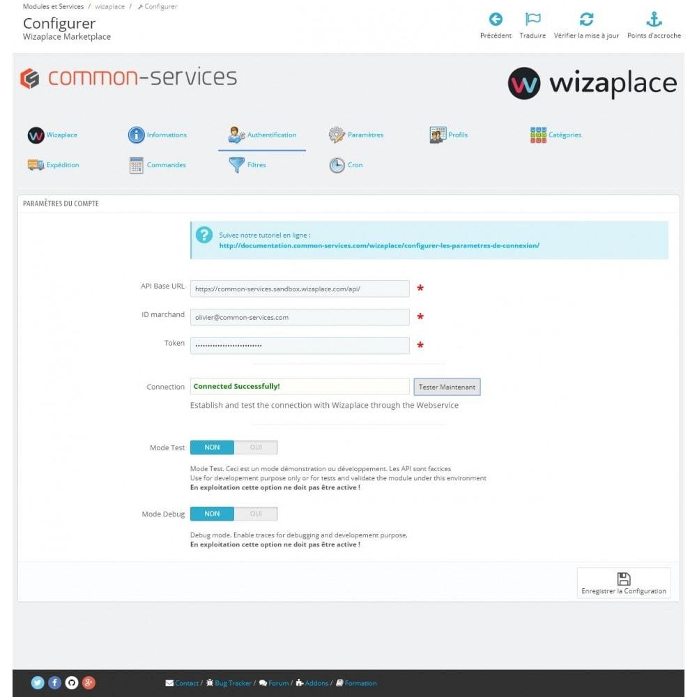 module - Marketplaces - Wizaplace marketplaces connector - 1