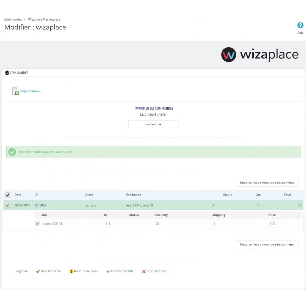 module - Marketplaces - Wizaplace marketplaces connector - 5