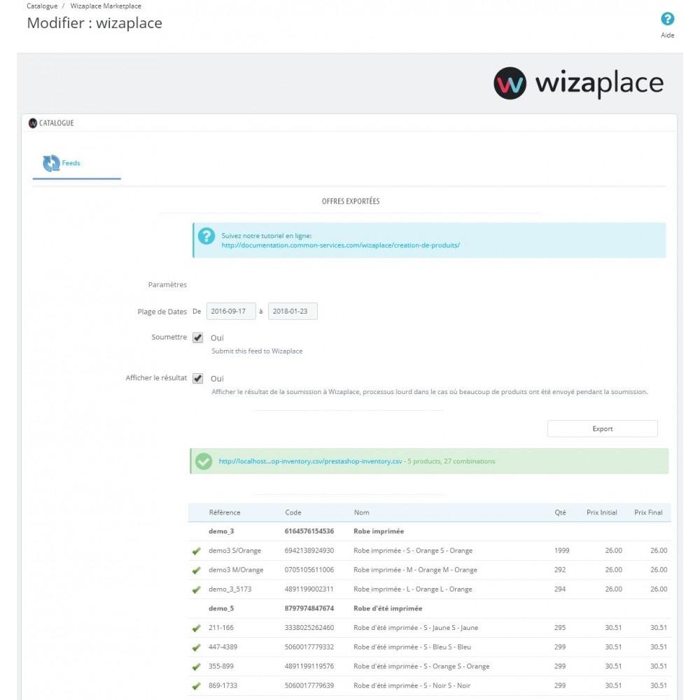 module - Marketplaces - Wizaplace marketplaces connector - 6