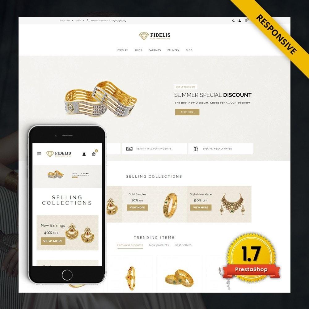theme - Bellezza & Gioielli - Fidelis - Jewelry Store - 1