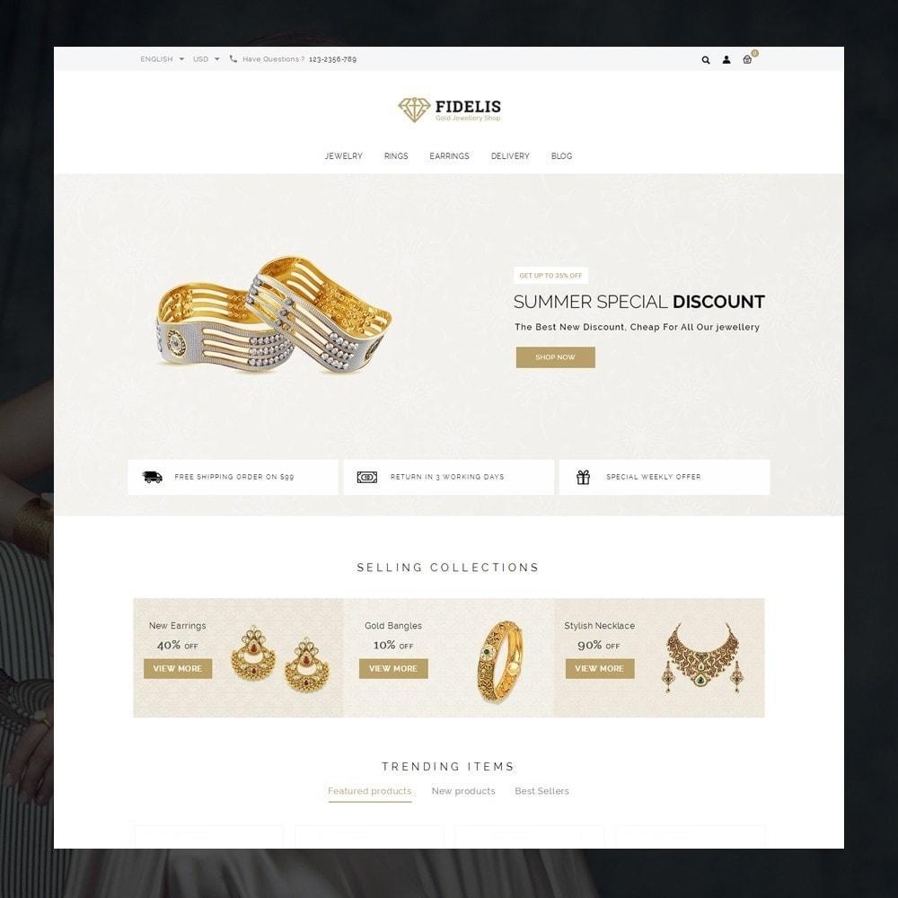 theme - Schmuck & Accesoires - Fidelis - Jewelry Store - 2