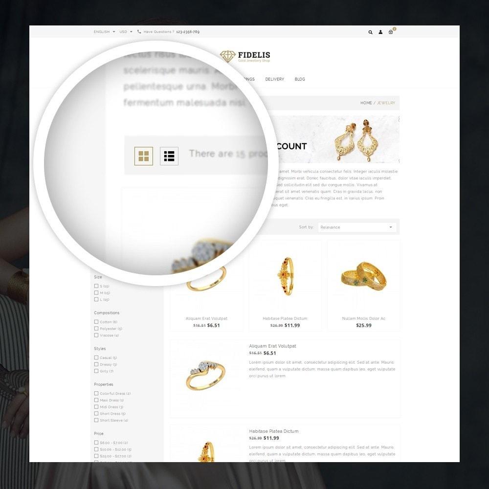 theme - Schmuck & Accesoires - Fidelis - Jewelry Store - 3