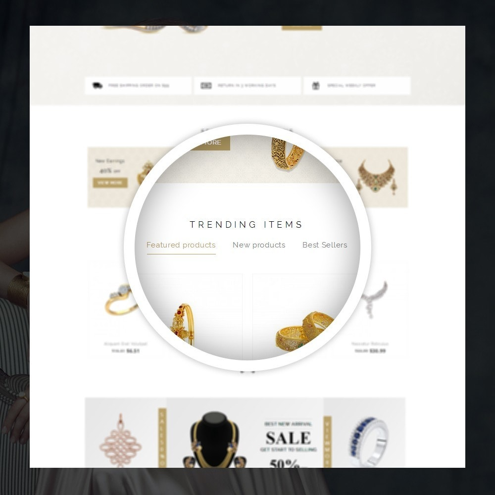 theme - Schmuck & Accesoires - Fidelis - Jewelry Store - 9
