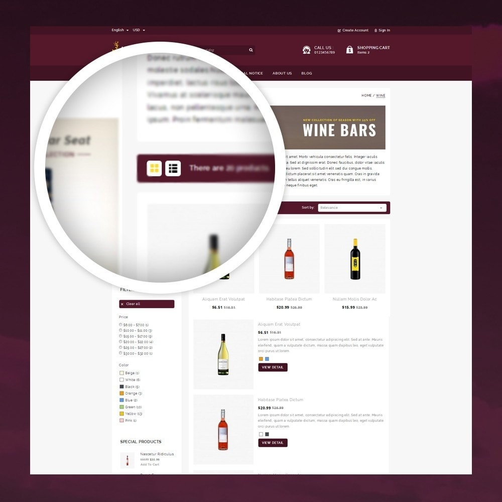 theme - Drink & Tobacco - Atlantis - The Wine Shop - 3