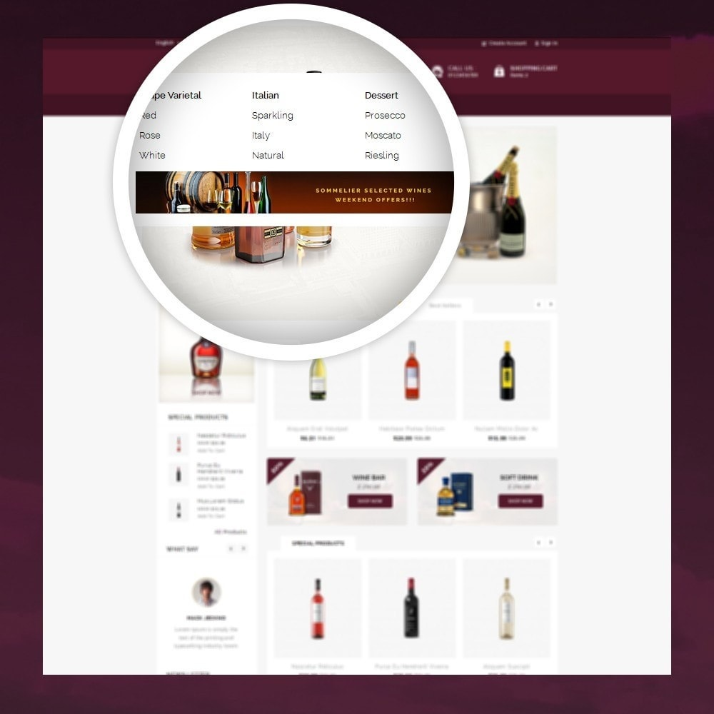 theme - Drink & Tobacco - Atlantis - The Wine Shop - 7