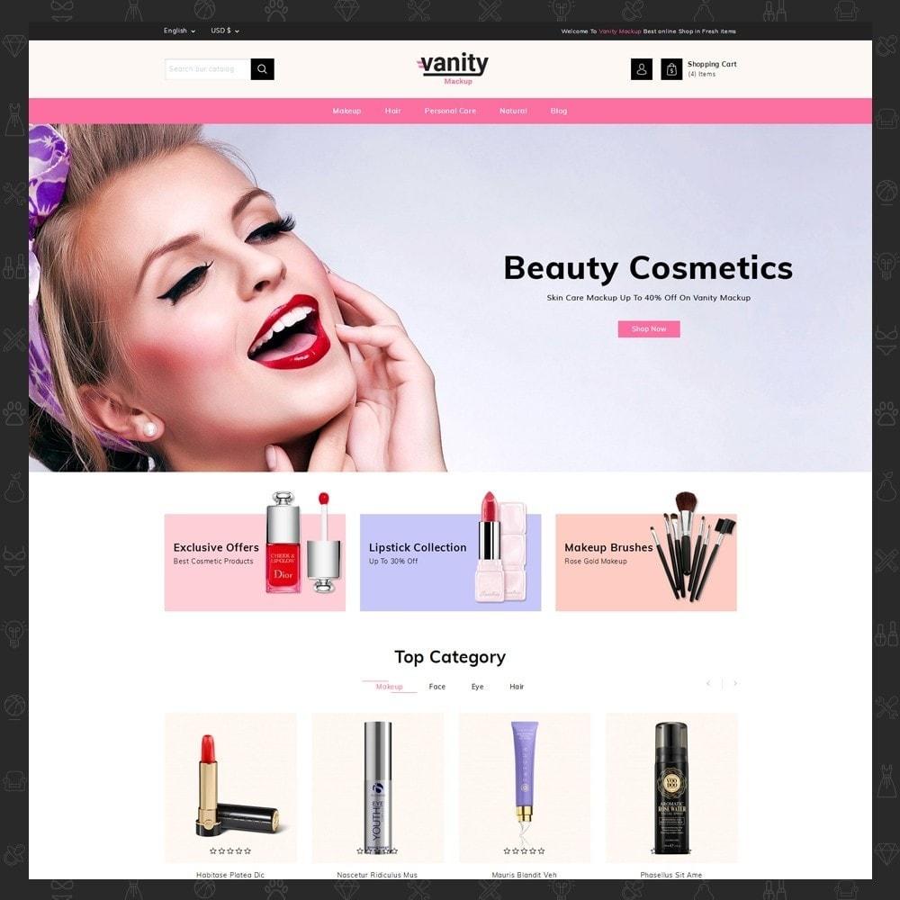 theme - Gesundheit & Schönheit - Vanity - Mackup Store - 2