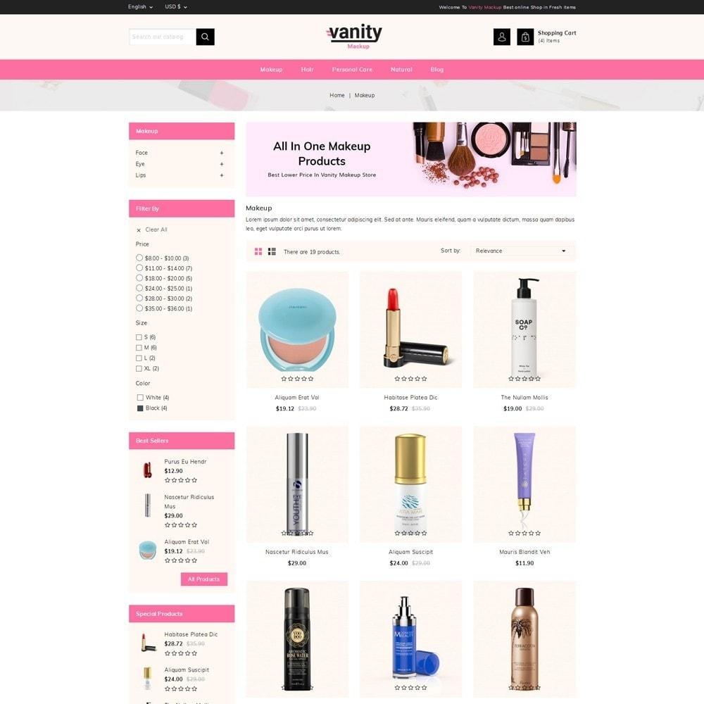 theme - Gesundheit & Schönheit - Vanity - Mackup Store - 3