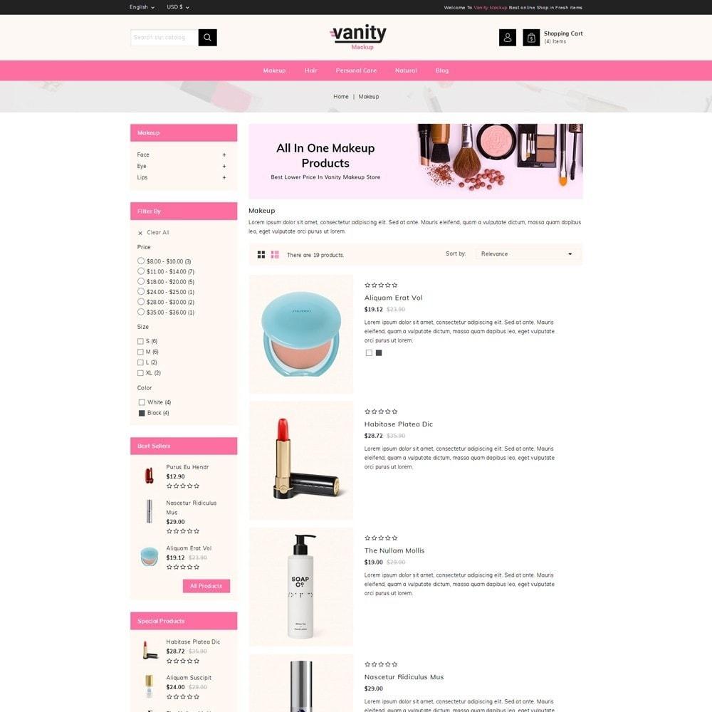 theme - Gesundheit & Schönheit - Vanity - Mackup Store - 4