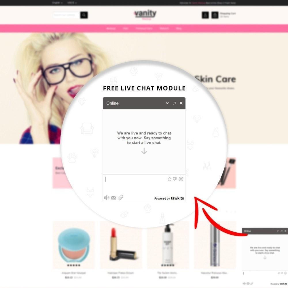 theme - Gesundheit & Schönheit - Vanity - Mackup Store - 7