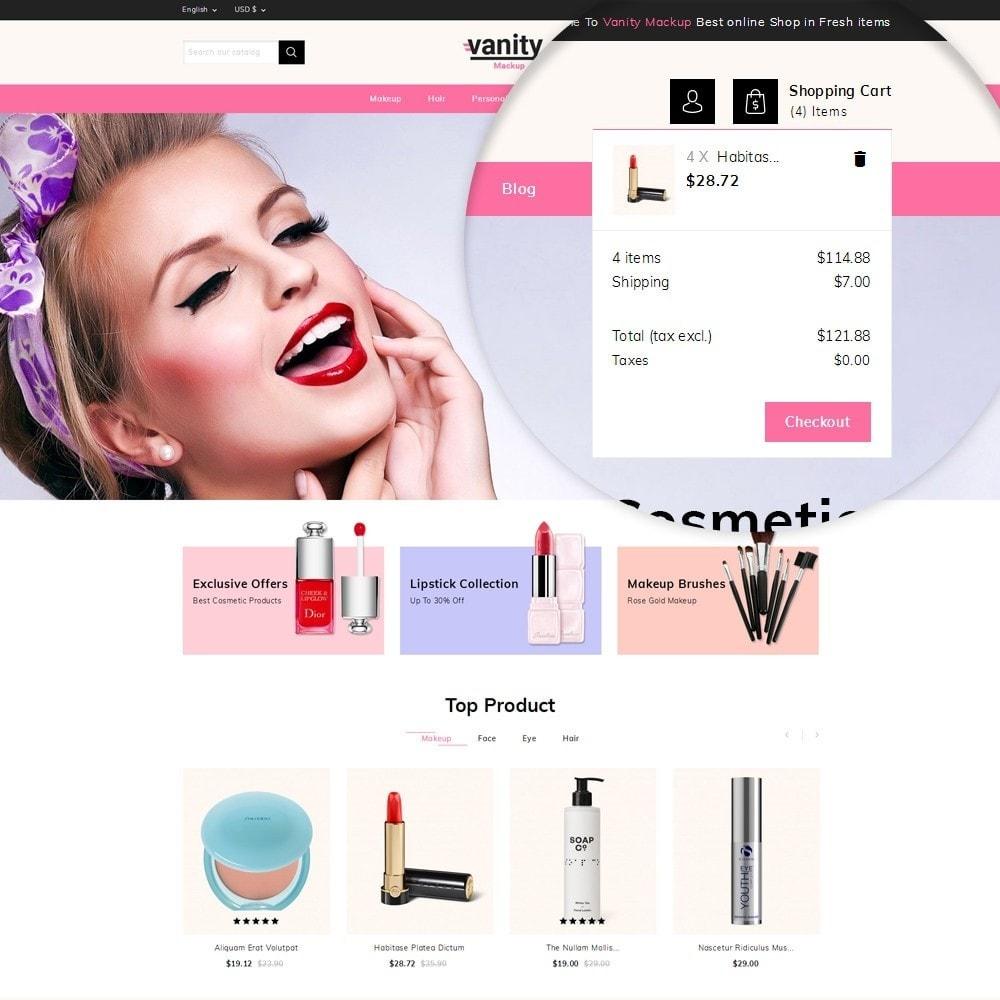 theme - Gesundheit & Schönheit - Vanity - Mackup Store - 9